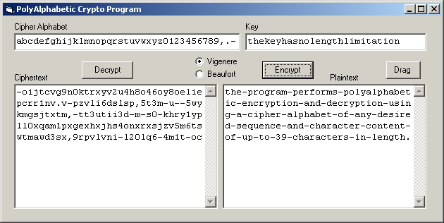 A Visual Basic Program Written By David Smith For Secret Code Breaker That Can Encrypt And Decrypt Messages Using 39 Character Cipher Alphabet